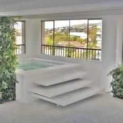 Jardins verticais.: Jardins de fachadas de casas  por Raul Hilgert Arquitetura de Exteriores