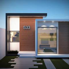 Casas multifamiliares de estilo  por BENPE ARQUITECTOS