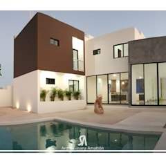 Garden Pool by SA ARQUITECTURA Y CONSTRUCCION,