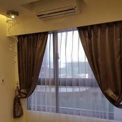 現代鄉村混搭風。八德:  窗戶 by 藝舍室內裝修設計工程有限公司