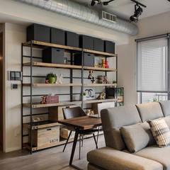 Oficinas de estilo  por 詩賦室內設計