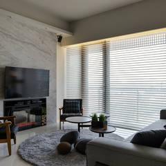 غرفة المعيشة تنفيذ 詩賦室內設計