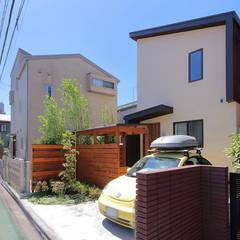 外観: シーズ・アーキスタディオ建築設計室が手掛けた一戸建て住宅です。