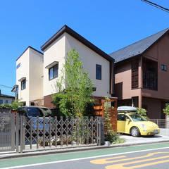 外観: シーズ・アーキスタディオ建築設計室が手掛けた家です。