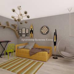 Архитектурное Бюро 'Капитель':  tarz Genç odası