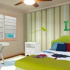 Dormitorios infantiles de estilo  por Filomena Sobreiro - Decorações