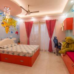 Vaishnavi Terraces, 3 BHK - Ms. Supriya:  Nursery/kid's room by DECOR DREAMS