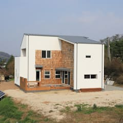 Country house by 주택설계전문 디자인그룹 홈스타일토토
