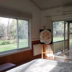 Imagen interior del Dormitorio 2: Dormitorios de estilo  por 2424 ARQUITECTURA