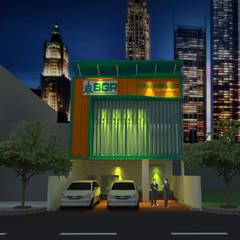 PT. BGR Office: Gedung perkantoran oleh GRADASI ARCHITECTURE STUDIO, Modern