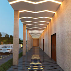 CORRIDOR:  Conference Centres by K Square Architects