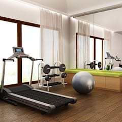 Gym by K Square Architects