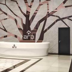 benna iç mimarlık – Ard Asansör Fabrikası 2: modern tarz Çalışma Odası
