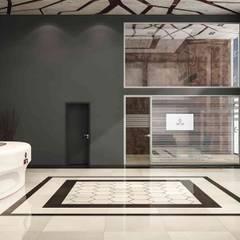 benna iç mimarlık – Ard Asansör Fabrikası 5: modern tarz Çalışma Odası