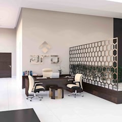 benna iç mimarlık – Ard Asansör Fabrikası 12: modern tarz Çalışma Odası