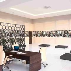 benna iç mimarlık – Ard Asansör Fabrikası 13: modern tarz Çalışma Odası
