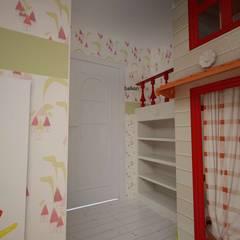benna iç mimarlık – Bağdat caddesi çocuk odası 2:  tarz Kız çocuk yatak odası