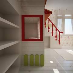 benna iç mimarlık – Bağdat caddesi çocuk odası 3:  tarz Kız çocuk yatak odası