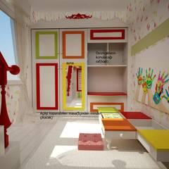 benna iç mimarlık – Bağdat caddesi çocuk odası 4:  tarz Kız çocuk yatak odası
