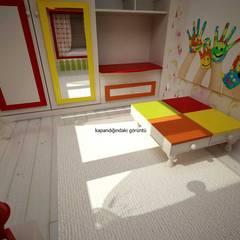 benna iç mimarlık – Bağdat caddesi çocuk odası 6:  tarz Genç odası