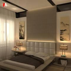 Bedroom by Il Migliore Architetto, Asian