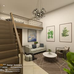 2-Storey with Penthouse Mixed-Use Building:  Commercial Spaces by CB.Arch Design Solutions, Modern
