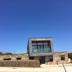West Polberro - St Agnes:  Prefabricated home by Building With Frames