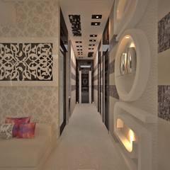 الممر الحديث، المدخل و الدرج من Estate Lookup Interiors حداثي
