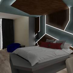 Private House - Summerveld:  Bedroom by Dedekind Interiors