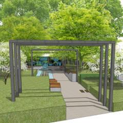 Jardines zen de estilo  por Aralia