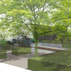 Conceptual Design for RHS Chelsea:  Zen garden by Aralia