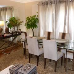 Apartamento T3 Alvalade Salas de jantar mediterrânicas por EU LISBOA Mediterrânico