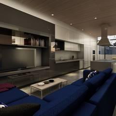 Residencia LA CIMA: Cocinas equipadas de estilo  por Álzar
