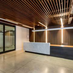 Recepcion: Edificios de Oficinas de estilo  por KOBALT ARQUITECTURA