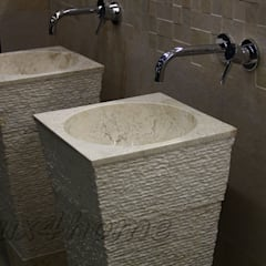 Freestanding Stone sinks - bathroom standing washbasins:  Bathroom by Lux4home™ Indonesia