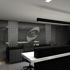 RECEPCION EHS: Edificios de Oficinas de estilo  por Álzar