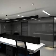Recepción EHS: Edificios de Oficinas de estilo  por Álzar