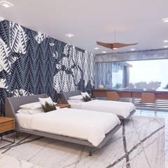 HOUSE 410: Recámaras infantiles de estilo  por Progressive Design Firm, Moderno