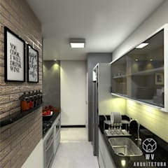 Kitchen units by WV ARQUITETURA, Industrial