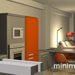 Loft Familiar - Santa Anita - Lima: Cocinas equipadas de estilo  por Minimalistika.com,