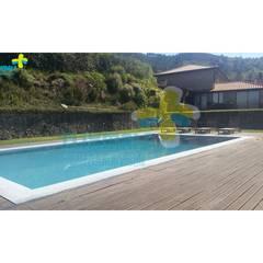 Projekty,  Basen do ogrodu zaprojektowane przez Clix Mais