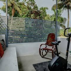 AANGAN:  Terrace by MAAD Concepts