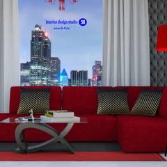 Living room in art deco style:  Living room by 'Design studio S-8'