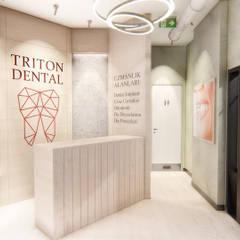 Sonraki Mimarlık Mühendislik İnş. San. ve Tic. Ltd. Şti. –  Özel Triton Ağız ve Diş Sağlığı Polikliniği Konsept Projesi:  tarz Klinikler