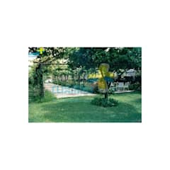 Jardines zen de estilo  por Clix Mais
