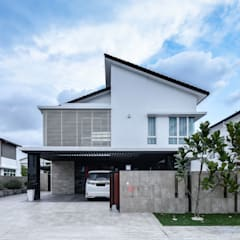 LUXURIOUS HOME: modern Houses by inDfinity Design (M) SDN BHD