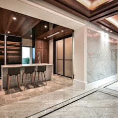LUXURIOUS HOME:  Built-in kitchens by inDfinity Design (M) SDN BHD