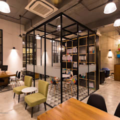Work Space:  Commercial Spaces by SVAC  -  Suchi Vora Architecture Collaborative
