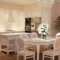 Интерьер кухни прованс: Кухни в . Автор – студия Design3F