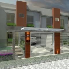 منزل عائلي كبير تنفيذ MVK Arquitetura, Engenharia e Construções